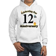 12th Anniversary Party Gift Hoodie