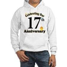 17th Anniversary Party Gift Hoodie