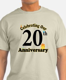 20th Anniversary Party Gift T-Shirt