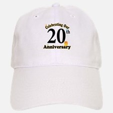 20th Anniversary Party Gift Baseball Baseball Cap