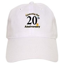 20th Anniversary Party Gift Baseball Cap