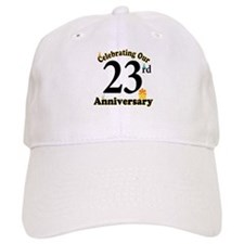 23rd Anniversary Party Gift Baseball Cap
