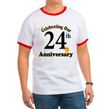 24th Anniversary Party Gift T
