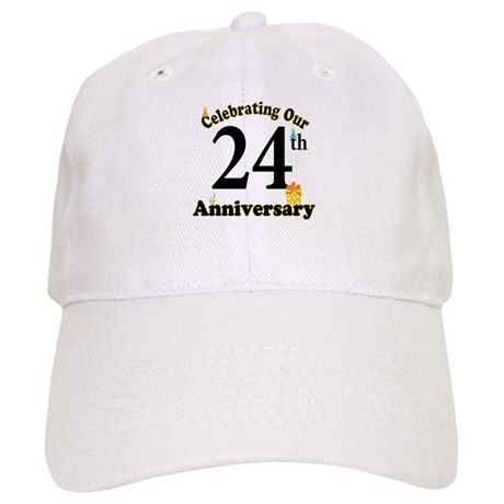 24th Anniversary Party Gift Cap