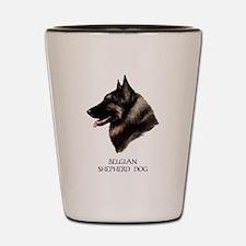 Belgian Shepherd Dog Shot Glass