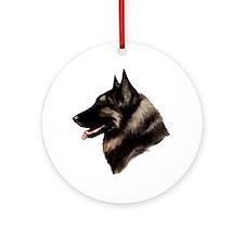 Belgian Shepherd Dog Ornament (Round)