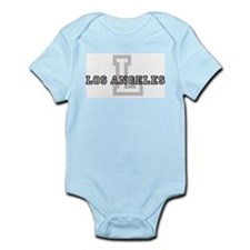 Letter L: Los Angeles Infant Creeper