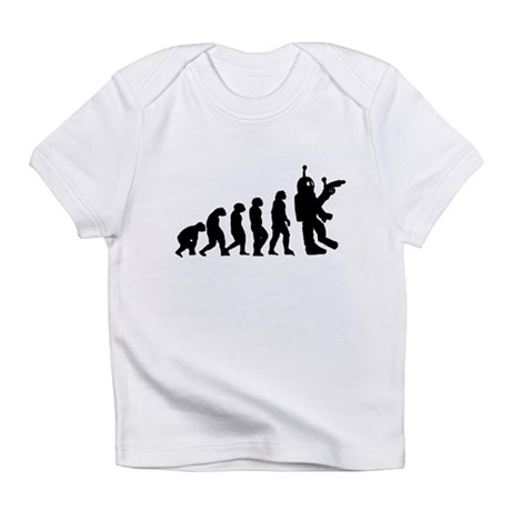 Killer Robot evolution Infant T-Shirt