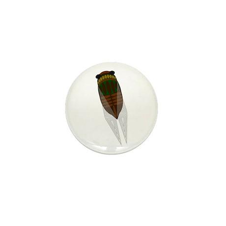 Cicada Mini Button