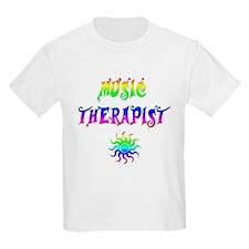 Music Therapist Kids T-Shirt