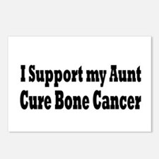 Cute Bone cancer Postcards (Package of 8)