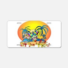 Get your TIKI on Aluminum License Plate