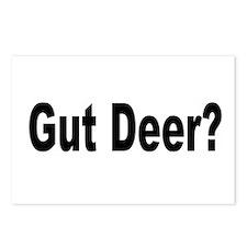 Cool Gut deer Postcards (Package of 8)