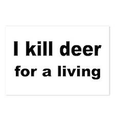Gut deer Postcards (Package of 8)
