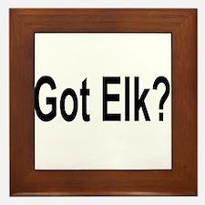 Got Elk? Framed Tile