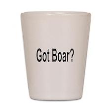 Got Boar? Shot Glass