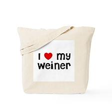 I * My Weiner Tote Bag