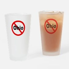 Ohio Drinking Glass