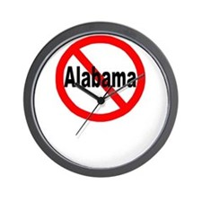 Alabama Wall Clock