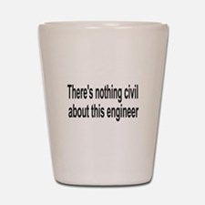 Civil Engineer Shot Glass