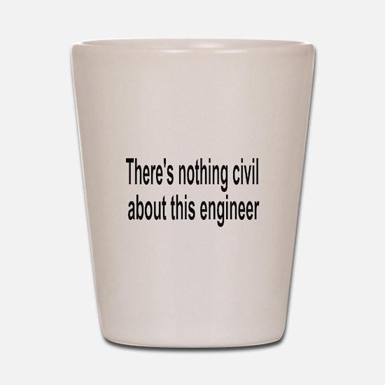 Civil Engineer Shot Glass
