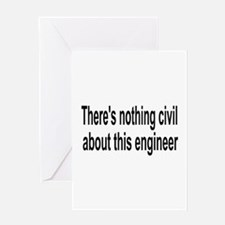 Civil Engineer Greeting Card