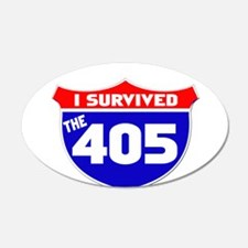 I survived the 405 Wall Decal