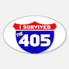 I survived the 405 Decal