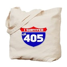 I survived the 405 Tote Bag