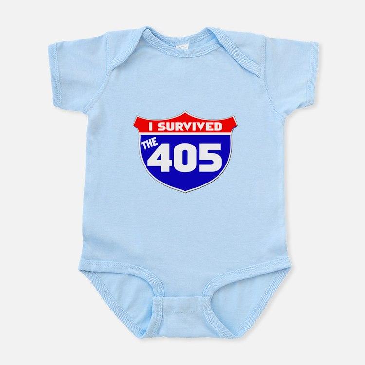 I survived the 405 Infant Bodysuit