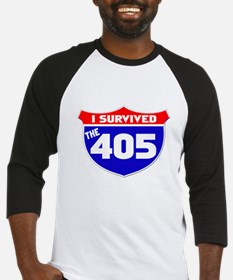 I survived the 405 Baseball Jersey