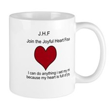 Cute Joining hearts Mug