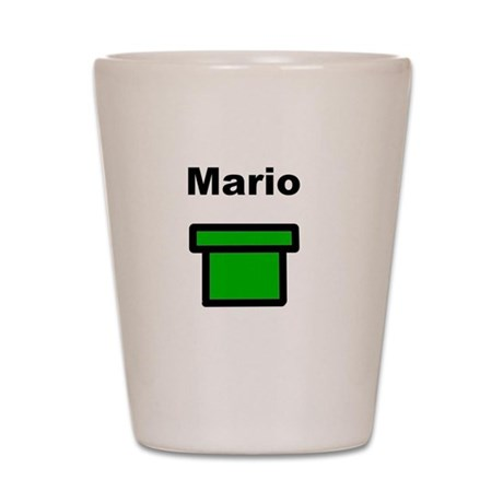 Mario Shot Glass