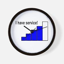 Service Wall Clock