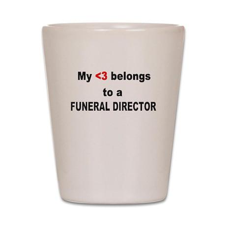 Funeral Director Shot Glass