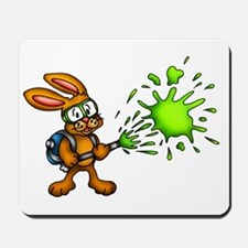 Rabbit Slimin' Fun Mousepad