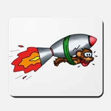 Rocket Monkey Mousepad