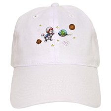 Space Cat Baseball Cap