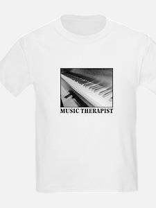 Music Therapist (Piano) Kids T-Shirt
