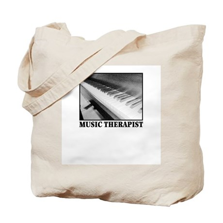 Music Therapist (Piano) Tote Bag