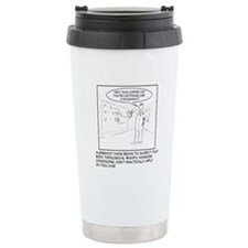 Topology Joke Travel Mug