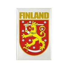 Finland COA Rectangle Magnet