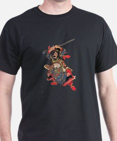 Japanese Samurai Warrior T-Shirt