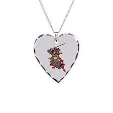 Japanese Samurai Warrior Necklace