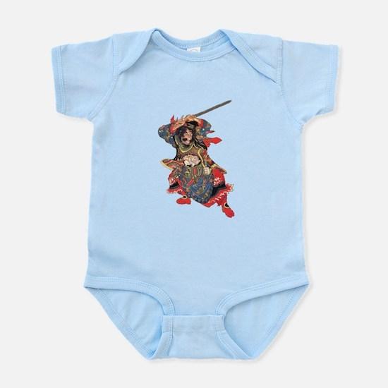 Japanese Samurai Warrior Infant Bodysuit