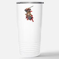 Japanese Samurai Warrior Travel Mug