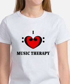 I Luv Music Therapy Tee