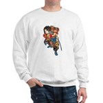 Japanese Samurai Warrior Sweatshirt