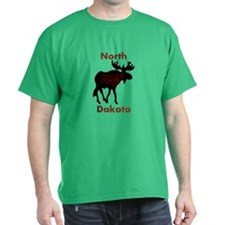 Customized Plain Moose T-Shirt