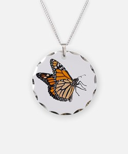 The King Monarch Butterfly Necklace